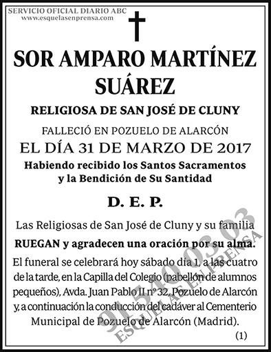 Amparo Martínez Suárez